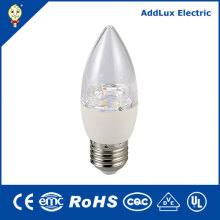 110V CE UL GS Dimming 4.5W 7W LED Candle Bulb