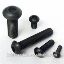 Tornillo de titanio calificado de alta resistencia Tornillos de titanio anodizado hexagonal estándar M3 con color base