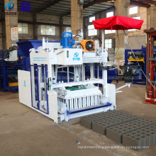 Electric Mobile Movable Egg Laying Brick Making Machine Manual Moving Concrete Cement Hollow Block Making Machine Price For Sale
