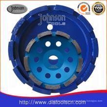 Diamond Cup Wheel with Single Row