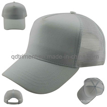 Constructed Chino Twill Front Mesh Back Trucker Cap (TTRT31)