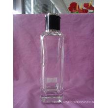 Bouteille de parfum de verre de forme de cylindre de 100ml