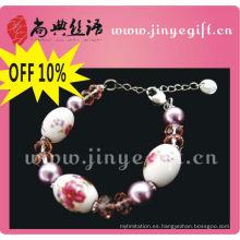 Pulsera de pie con cuentas de esmalte natural de joyas de Shangdian