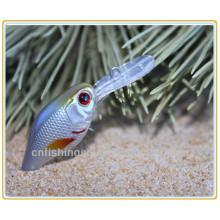 CKL006 6cm 4g Venta Caliente de Plástico Duro Señuelo Crank Bait Pequeño Señuelo de la Pesca