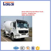 Caminhão de mistura concreto de Sinotruk HOWO