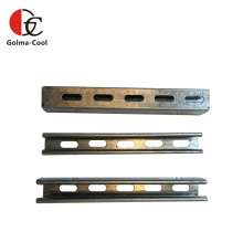Acero de canal en U listo para usar galvanizado laminado en caliente