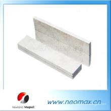 Kundenspezifische AlNiCo-Magnete in dünner Blockform für heißen Verkauf