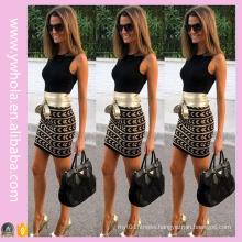 2016 Women′s Bodycon Sleeveless Mini Dress