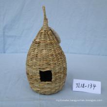 Weaving Sea Grass Bird Cage