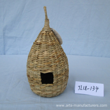 Goods high definition for Seagrass Bird Cage Weaving Sea Grass Bird Cage export to United States Manufacturers