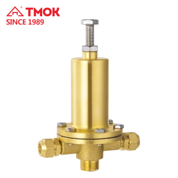 High quality Brass color water pressure relief valve