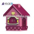 2015 casa de juego de jardín de niños de jardín de hotsale, juego de jardín juego patio de juguete