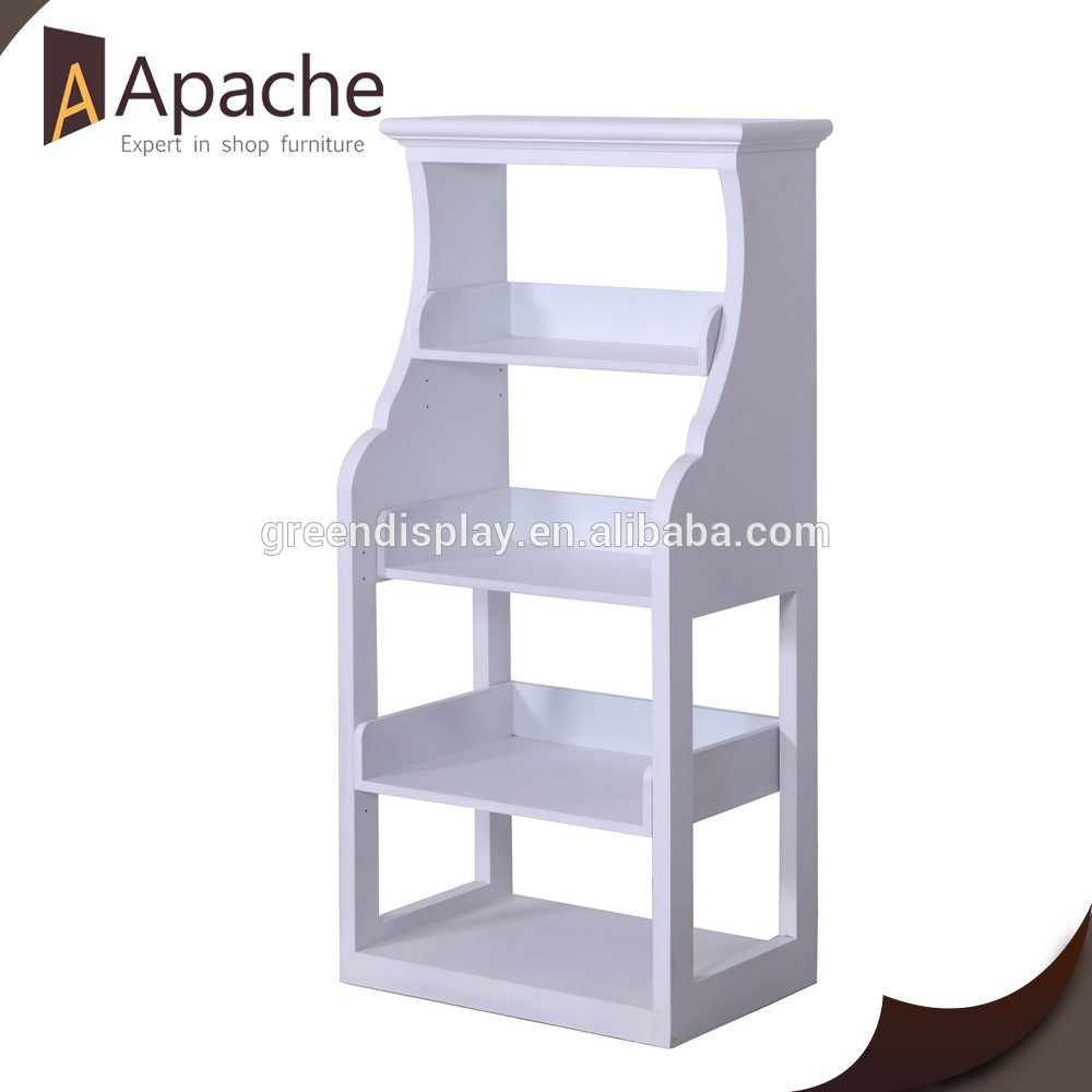 Long lifetime 4-Tier Fashion Display Rack for 2015