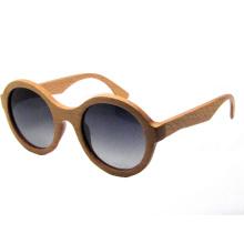 Óculos de sol de madeira da forma (sz5690-2)