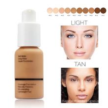 Wholesale Matte Makeup Private Label Logo Cosmetics Waterproof Long Lasting Concealer Liquid Foundation