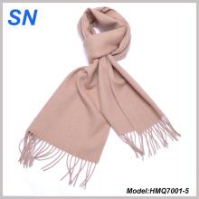 Unisex Inverno sólido quente Pashmina lã cachecol