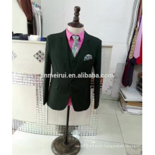 Free Shipping Hot Sale Cheap Hunter Green Men Suits with Long Sleeves Button Formal Occasions 2017 in China
