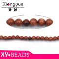 8 мм круглый драгоценный камень бисером ожерелье дизайн