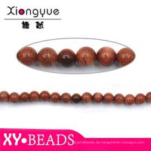 8MM rund Edelstein Perlen Halskette Design