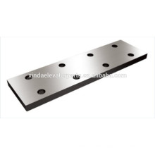 Fish plate for Guide Rail for elevator spare part
