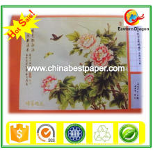 Prix du papier-usine de C2s à revêtement blanc