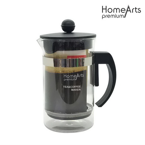 600ML Borosilicate Glass Coffee Plunger