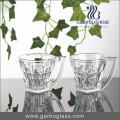 Nueva taza del vidrio del café express del café d