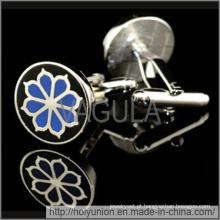 VAGULA estoque abotoaduras botões de punho personalizado (Hlk31613)