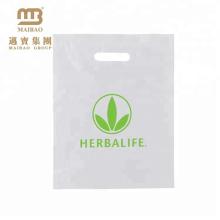 El plástico de encargo del diseño de las compras biodegradables del almidón de maíz barato amistoso de Eco lleva el bolso con precio bajo