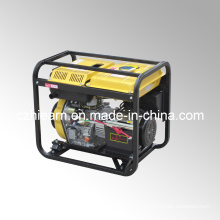Air-Cooled Open Frame Type Single Cylinder Diesel Generator Three Phase (DG6000E3)