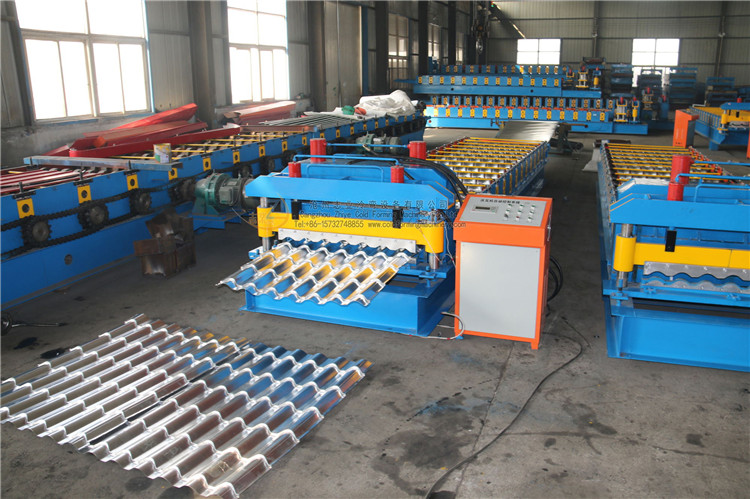 Glazed Tile Profile Machines