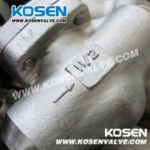 Válvula de retención de pistón de acero inoxidable 800lb A105n