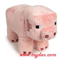 Juguete de cerdo de dibujos animados de felpa