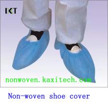 Couverture médicale non-tissée jetable de chaussure de PP / PE / CPE faite Kxt-Sc22