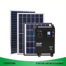 Grupo completo 5Kw 5000 W fora do sistema de energia híbrido solar portátil da grade