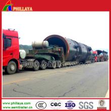 Modularer Typ Hydraulischer Lader-Ausrüstung Tiefbett-LKW-Anhänger
