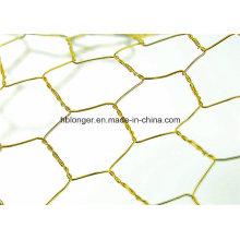 Engranzamento de fio colorido Hexagonal fio malhas/Hexagonal