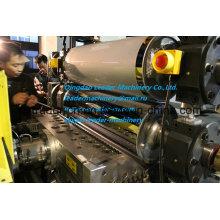 Línea de extrusión de hoja delgada de PP PE / bobinadora de doble posición / cabeza de 0.2-2.0mm / T-Die