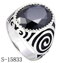Alta qualidade 925 anel de prata esterlina para homem