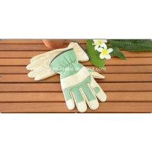 Green Garden Glove-Leather Working Glove-Safety Glove