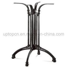 Black Cross Aluminum Table Leg for Outdoor Table (SP-ATL242)