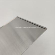 Plaque ultra plate en aluminium utilisée par tampon série 5000