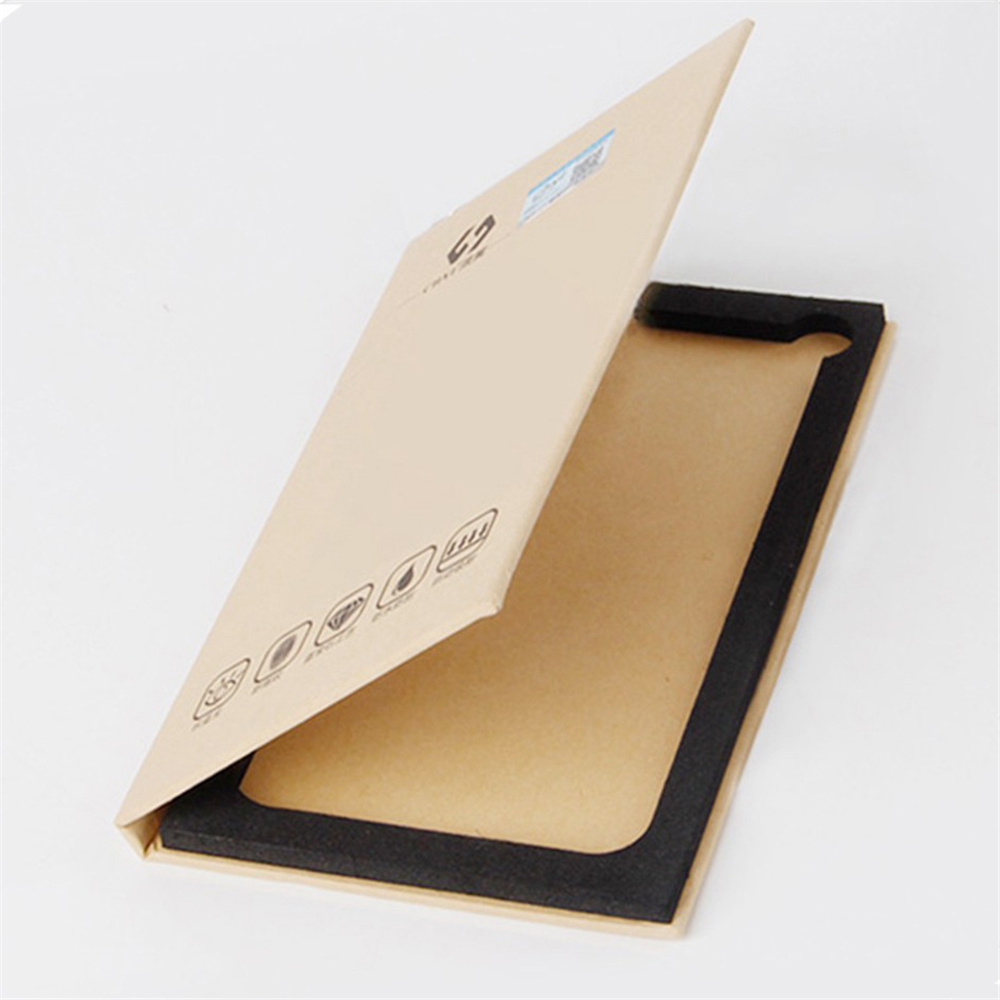 Book Like Foldable Cell Phone Screen Paper Box