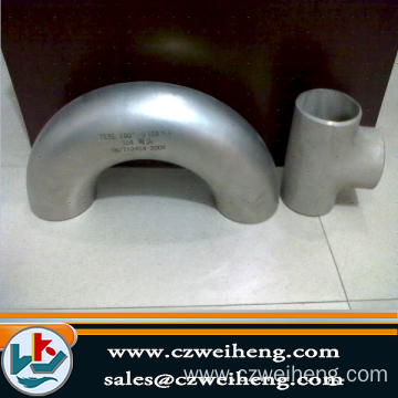 Welded 180deg Elbow Fittings Pipe