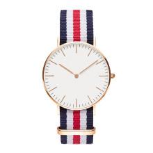 Reloj de plata de la plata del oro de Rose del reloj de lujo de la marca de fábrica de los relojes de las mujeres de los hombres 2016 Reloj Reloj Mujer Reloj