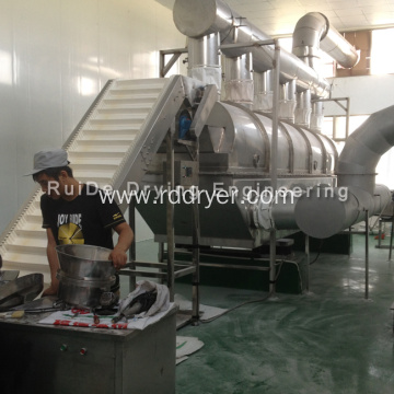 Xylitol fluidized bed dryer