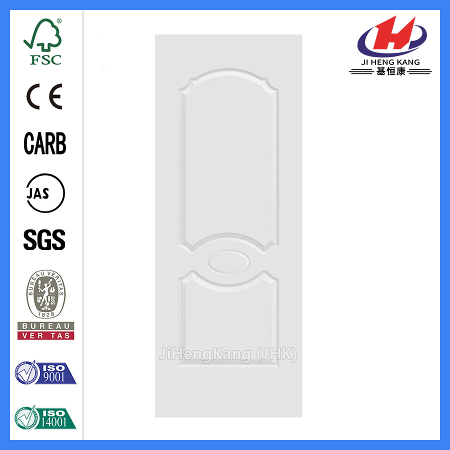 JHK-007 Classical And Economic  MDF  White Primer Door Skin