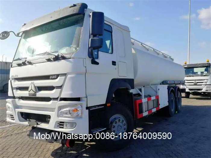 336hp 10 Wheels Fuel Oil Diesel Tank Truck