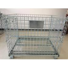 Heavy galvanized storage cage for apartment