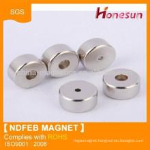 powerful neodymium magnet ring China manufacturer